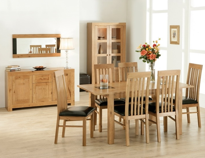 Latest Oak Dining Table Set Solid Oak Dining Table And Chairs Oak Dining Pertaining To Oak Dining Tables And Chairs (View 8 of 20)