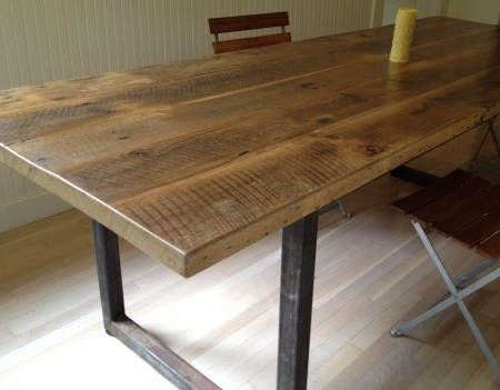 Latest Oval Reclaimed Wood Dining Tables Throughout Outstanding 8 Good Reclaimed Wood Farmhouse Dining Table (View 11 of 20)