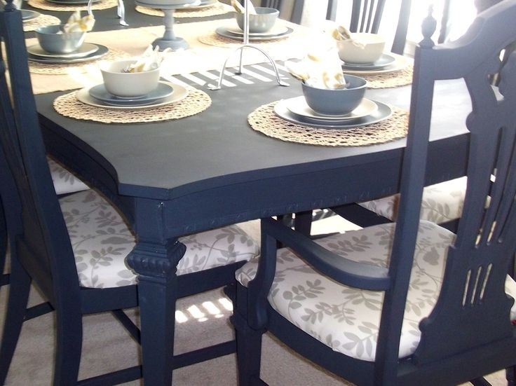 Latest Painted Dining Tables In Paint Dining Room Table Best Ideas For Painting Dining Room Table (Gallery 16 of 20)