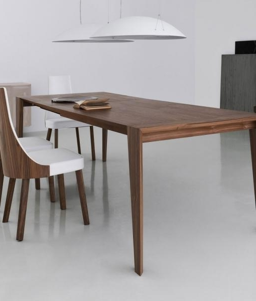Latest Pulse 175 Extendable Wood Dining Table (View 13 of 20)