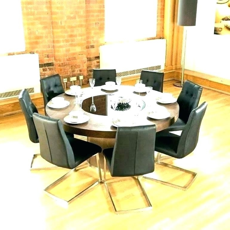 Latest Round 6 Person Dining Tables Pertaining To Round Dining Table For 6 – Pizzaitaliana (View 9 of 20)