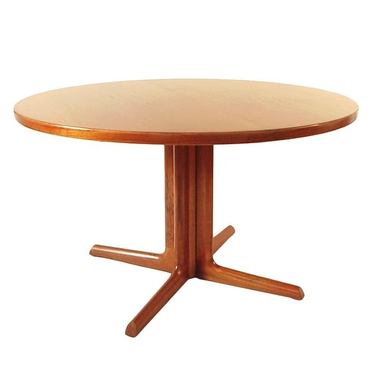 Latest Round Teak Dining Table Teak Wood Inch Round Patio Dining Table – 5Fu (View 4 of 20)