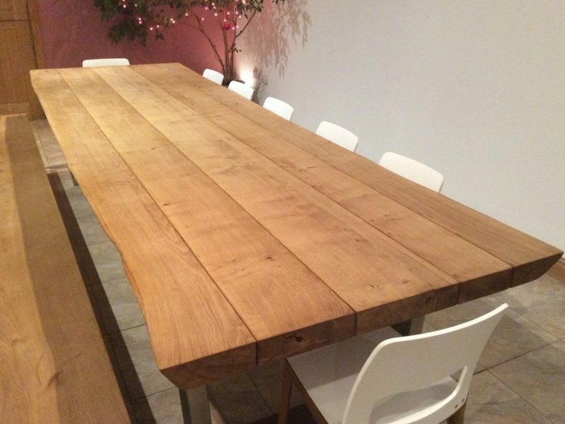 Latest Rustic Oak Dining Tables With Regard To Rustic Dining Table Selection (View 8 of 20)