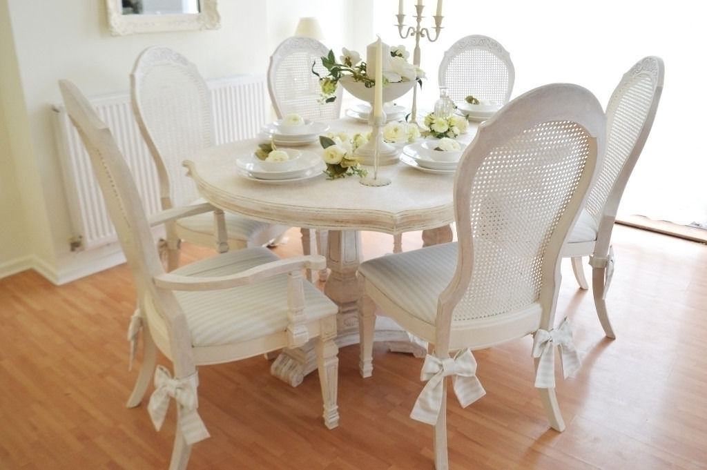 Latest Shabby Chic Dining Sets Throughout Shabby Chic Dining Room Furniture For Sale Cute Shab Chic Dining (View 6 of 20)