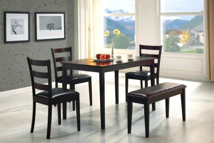 Latest Small Kitchen Dining Table Sets For 2 Regarding Care And Maintenance Intended For Small Dining Sets (Gallery 19 of 20)