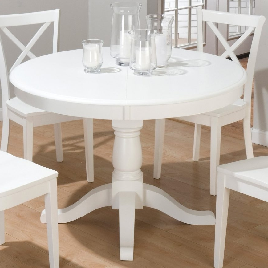 Latest Small Round White Dining Tables For Best White Dining Tables With Table And 8 Chairs Plus Gold Legs (View 8 of 20)