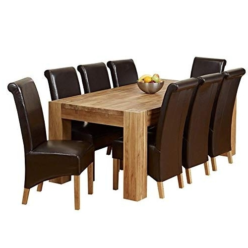 Latest Table With 8 Chairs: Amazon.co.uk In Dining Tables And 8 Chairs (Gallery 10 of 20)