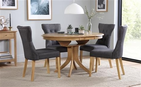 Featured Photo of Extendable Dining Tables And Chairs