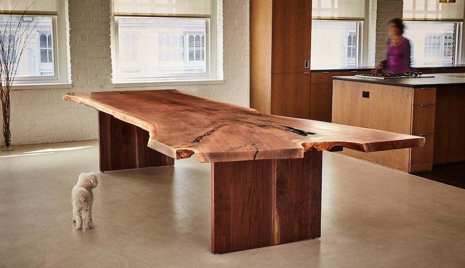 Latest Walnut Dining Tables Inside Handcrafted Custom Walnut Dining Tables (View 6 of 20)