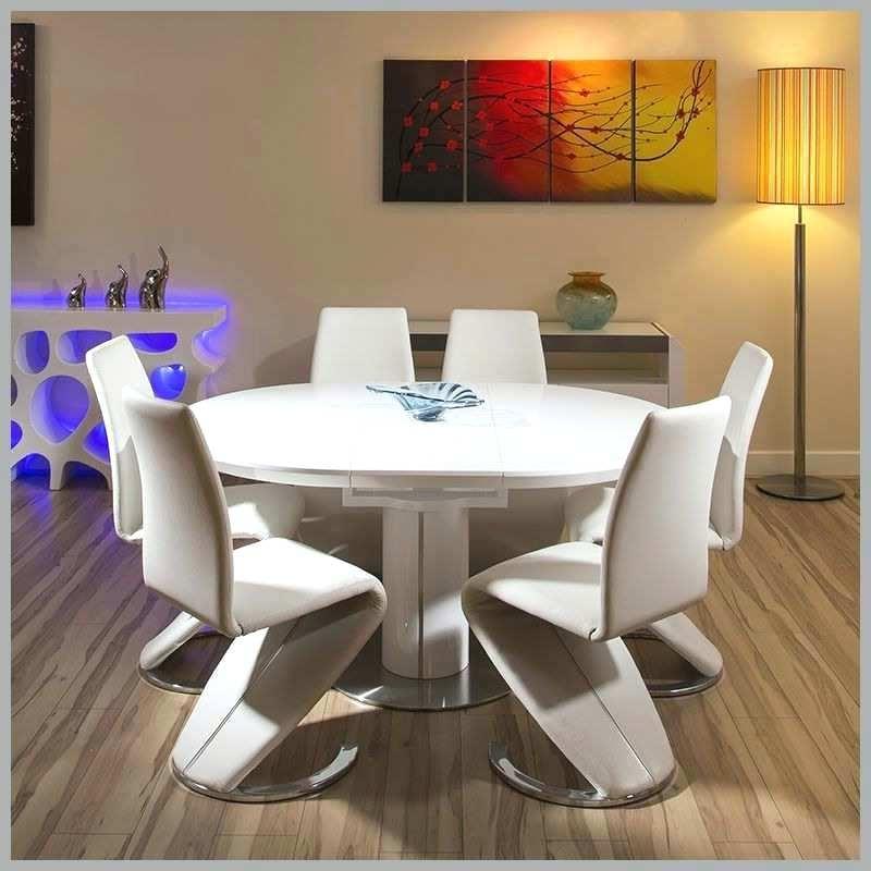 Latest White High Gloss Dining Chairs Modern Table Best Of Extending Fresh Inside Oval White High Gloss Dining Tables (View 7 of 20)