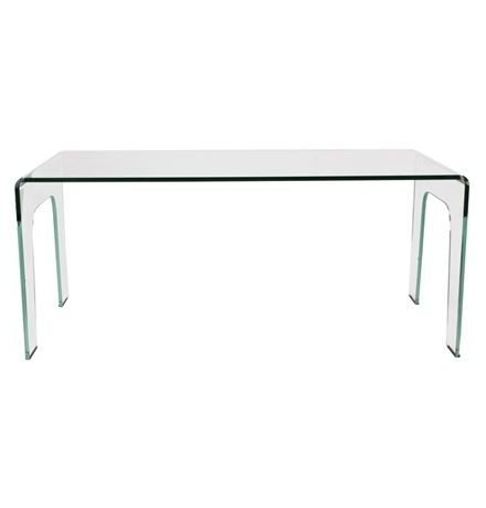 Latest York Curved Glass Dining Table Main Image (View 14 of 20)