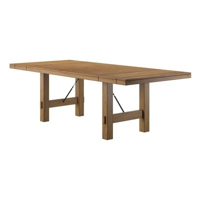 Laurel Foundry Modern Farmhouse Beachem Extendable Dining Table In Pertaining To Recent Norwood 7 Piece Rectangular Extension Dining Sets With Bench, Host & Side Chairs (Gallery 12 of 20)