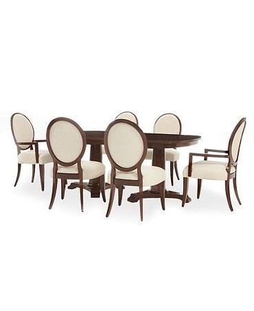 Lauren Ralph Lauren Dining Room Furniture, Mitchell Place 7 Piece In Popular Laurent 7 Piece Rectangle Dining Sets With Wood Chairs (View 3 of 20)