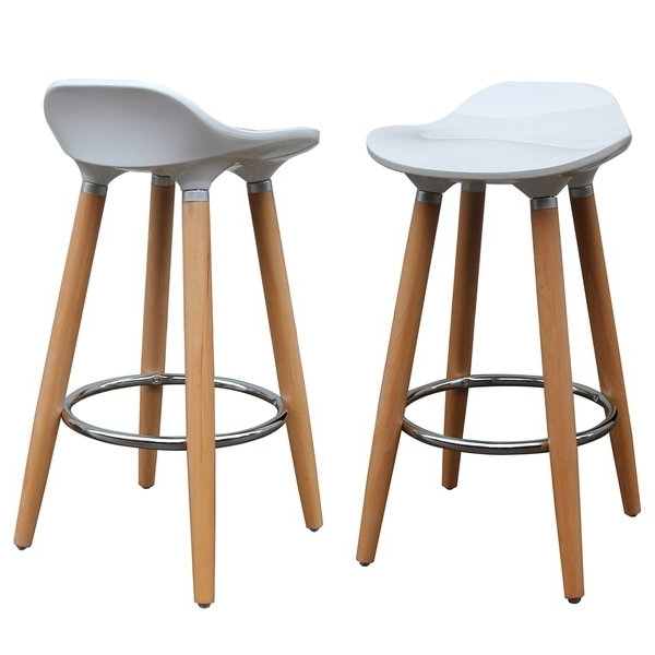 Laurent 7 Piece Counter Sets With Wood Counterstools Inside Popular Shop Trex 26 Inch Counter Stool (Set Of 2) – Free Shipping Today (Gallery 13 of 20)