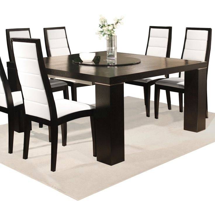 Laurent 7 Piece Rectangle Dining Sets With Wood And Host Chairs Within Best And Newest 31 Best Dining Tables Images On Pinterest (Gallery 6 of 20)