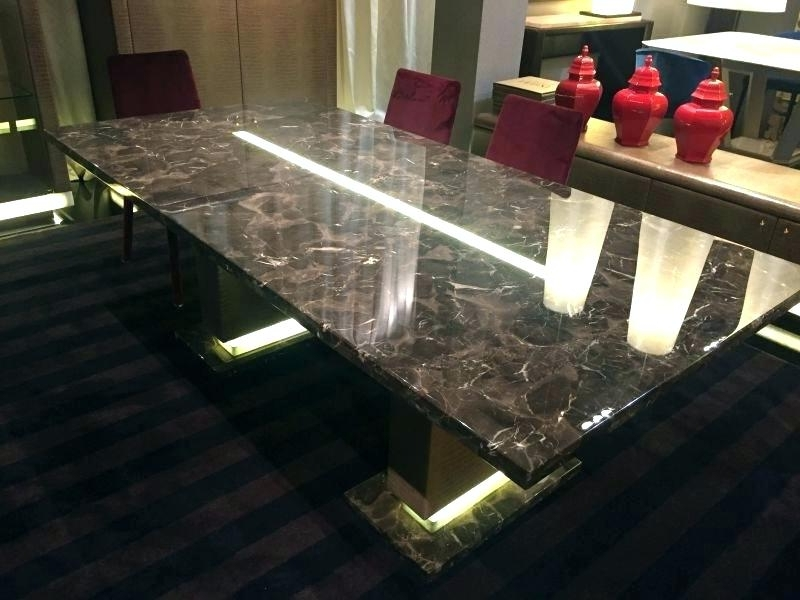 Led Dining Table Treasure Island Lights – Chann Intended For Popular Led Dining Tables Lights (View 7 of 20)