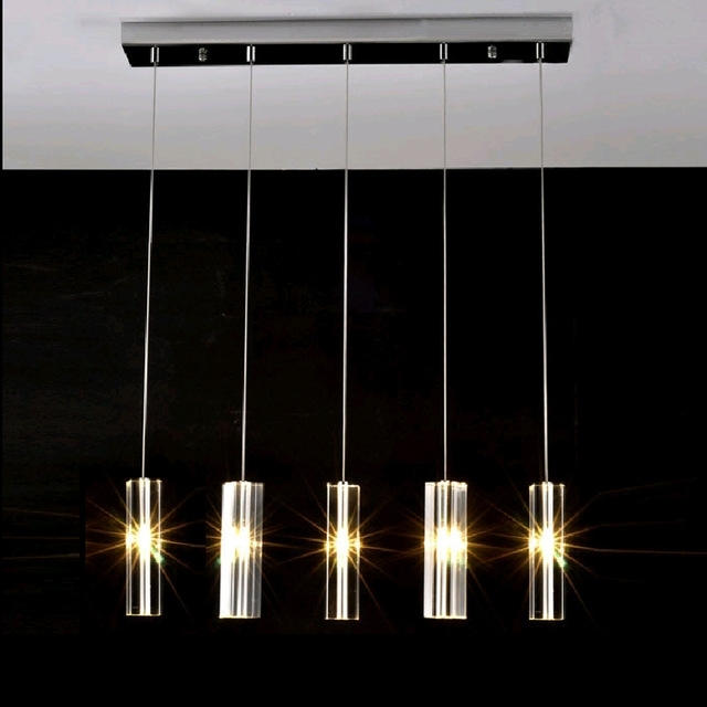 Led Dining Tables Lights Inside Most Recently Released Hanging Dining Room Lamp Led Pendant Lights Modern Kitchen Lamps (View 9 of 20)