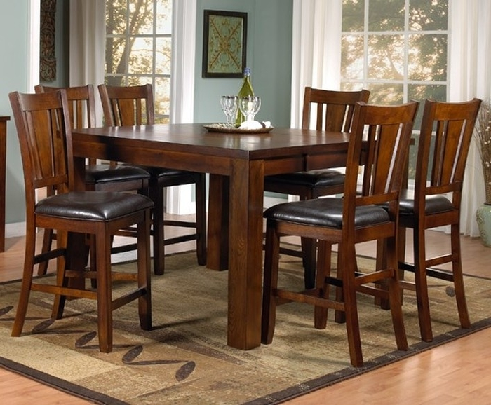 Leon 7 Piece Dining Sets For Well Known  (View 5 of 20)