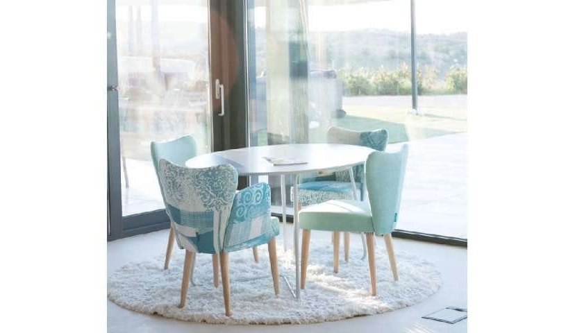 Leon Fabric Dining Chair Range (View 11 of 20)