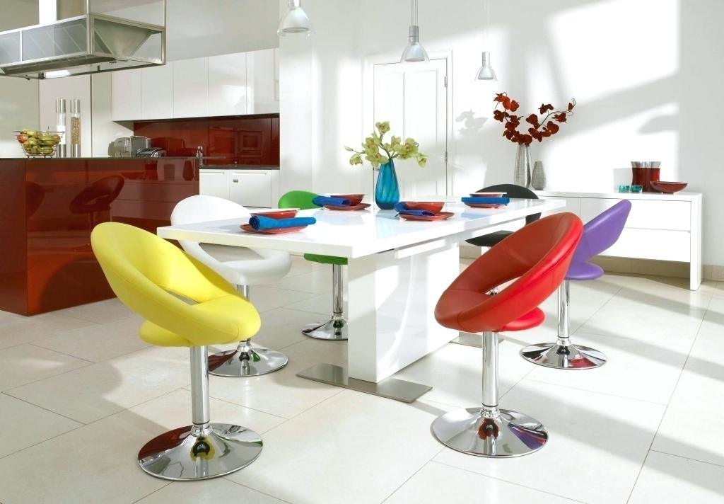 Light Colored Formal Dining Room Sets Modern Colorful Cream Table Intended For Well Known Colourful Dining Tables And Chairs (View 11 of 20)