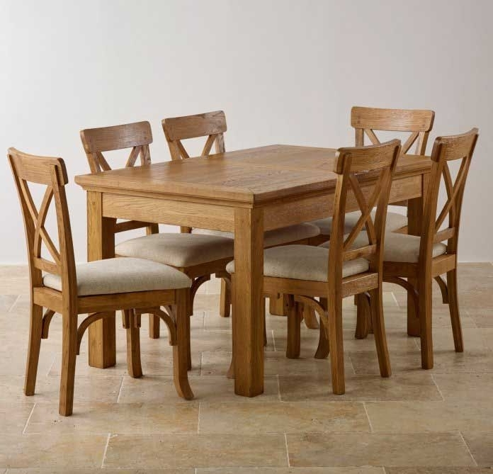 Light Oak Dining Tables And 6 Chairs In Best And Newest Oak Dining Light Oak Dining Set Light Oak Dining Table And Chairs (Gallery 7 of 20)