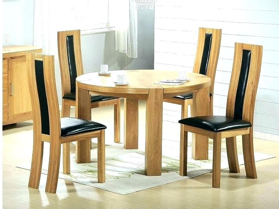 Light Oak Dining Tables And 6 Chairs Within Newest Cheapest Oak Dining Table 6 Chairs Cheap And Ebay Light Chunky Solid (Gallery 18 of 20)