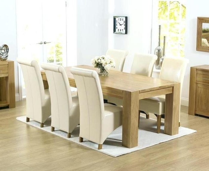 Light Oak Dining Tables And Chairs Within Widely Used 10. Light Oak Dining Table And Chairs Light Oak Dining Room Chairs (Gallery 10 of 20)