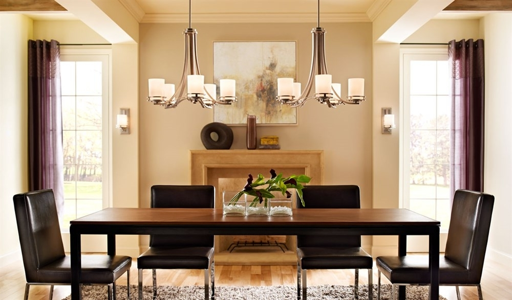 Lights For Dining Room Ideas And Tips Intended For Most Recently Released Dining Tables With Led Lights (View 20 of 20)