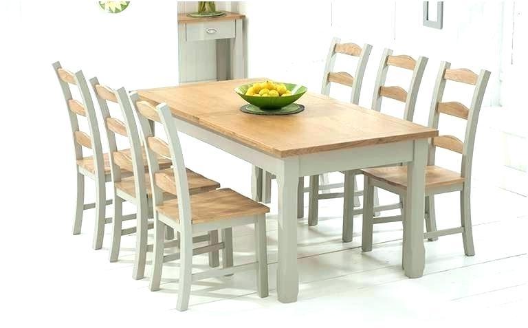 Likable Light Oak Dining Table Set Tables And Chairs Extending 8 Regarding Most Recent Light Oak Dining Tables And Chairs (View 14 of 20)