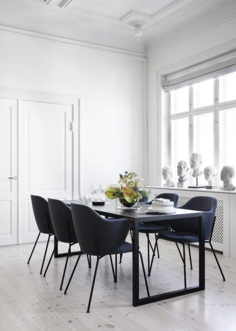 Living Room : Lassen Chair In New Finishes Via Coco Lapine Design Intended For Newest Lassen Round Dining Tables (View 11 of 20)