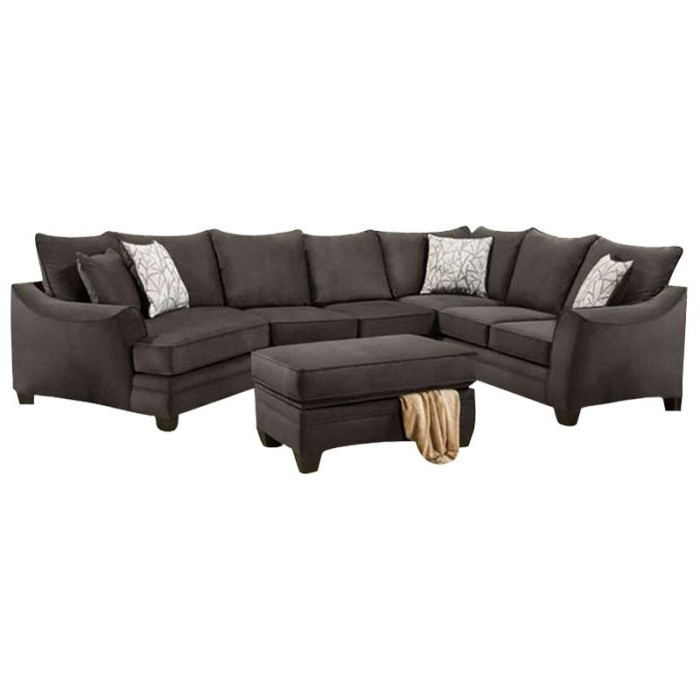 Living Room Sectionals For Popular Burton Leather 3 Piece Sectionals (View 11 of 15)