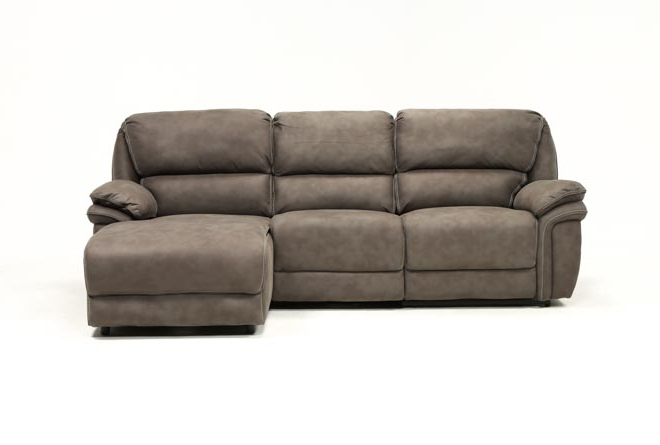 Featured Photo of Norfolk Grey 3 Piece Sectionals With Raf Chaise