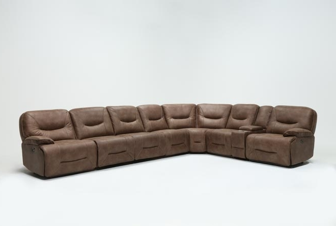 Featured Photo of Jackson 6 Piece Power Reclining Sectionals With Sleeper