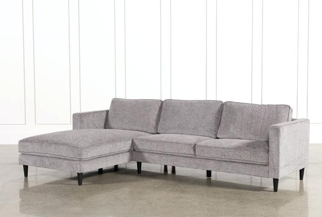 Living Spaces Chaise Lounge Great Evan 2 Piece Sectional W Raf Home Inside Well Known Evan 2 Piece Sectionals With Raf Chaise (View 8 of 15)