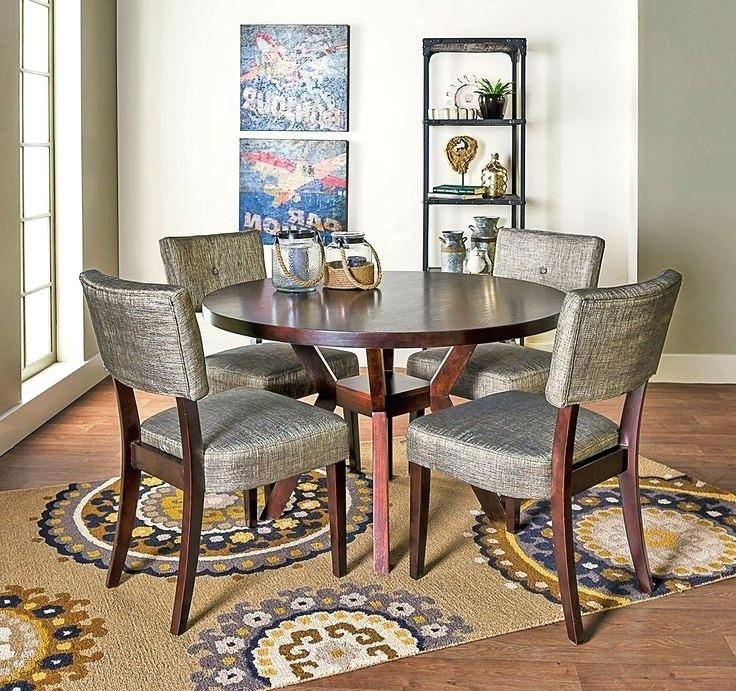 Living Spaces Dining Sets Pierce 5 Piece Counter Set Living Spaces Pertaining To Fashionable Pierce 5 Piece Counter Sets (View 8 of 20)
