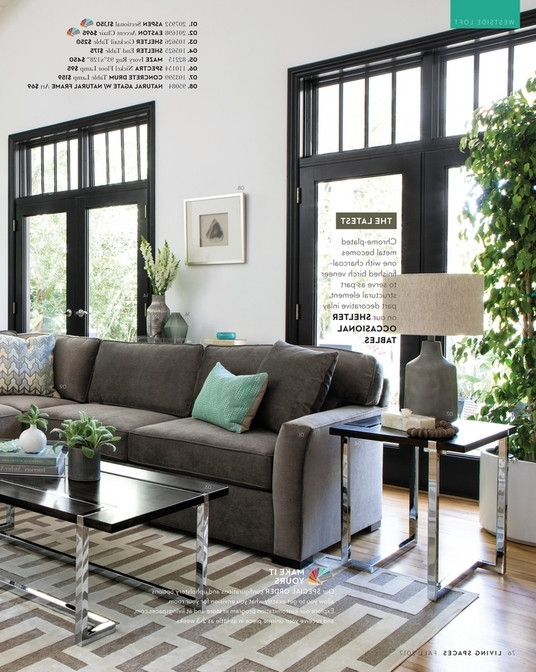 Living Spaces – Fall 2017 – Aspen 2 Piece Sectional W/raf Chaise Within Most Recent Aspen 2 Piece Sectionals With Laf Chaise (View 11 of 15)