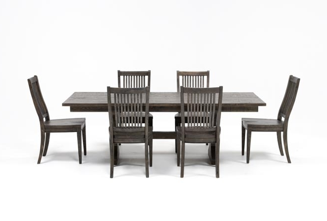 Featured Photo of Valencia 72 Inch 7 Piece Dining Sets