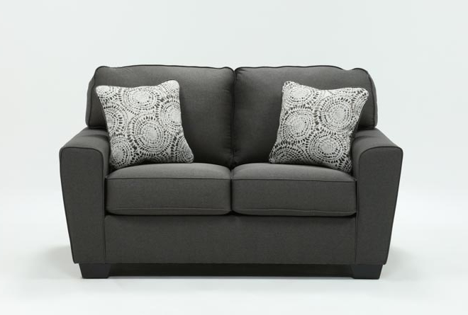 Living Spaces For Mcdade Graphite 2 Piece Sectionals With Laf Chaise (View 7 of 15)