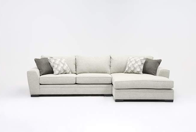 Living Spaces Intended For Delano 2 Piece Sectionals With Laf Oversized Chaise (View 1 of 15)
