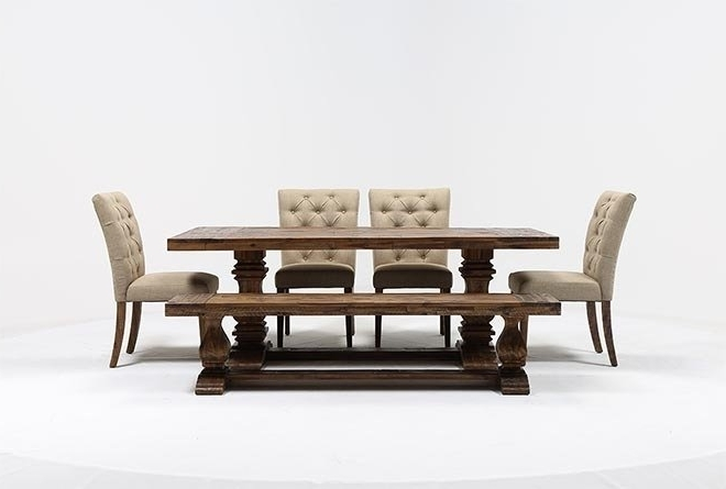 Living Spaces Pertaining To Favorite Partridge 6 Piece Dining Sets (Gallery 2 of 20)