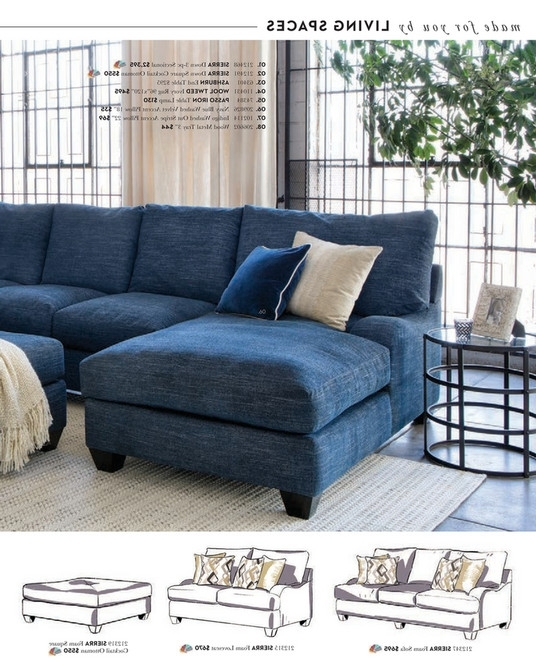 Living Spaces – Spring 2018 – Sierra Down 3 Piece Sectional W/laf Chaise Pertaining To Current Sierra Down 3 Piece Sectionals With Laf Chaise (View 7 of 15)