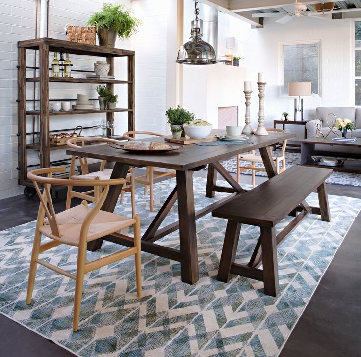 Living Spaces Tables – Loris Decoration In Preferred Pelennor Extension Dining Tables (View 6 of 20)
