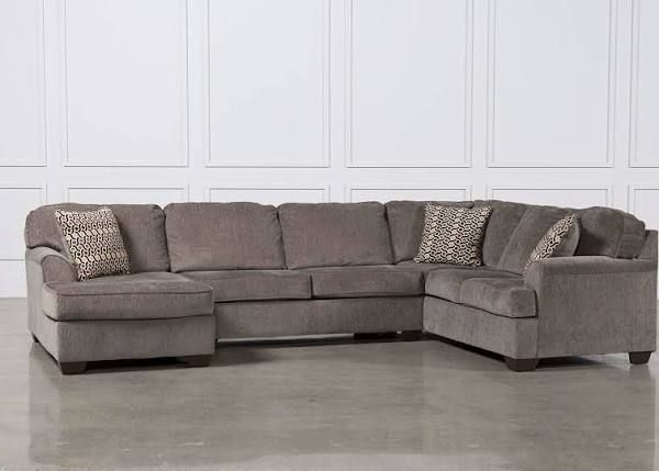 Living With Regard To Best And Newest Harper Foam 3 Piece Sectionals With Raf Chaise (View 4 of 15)