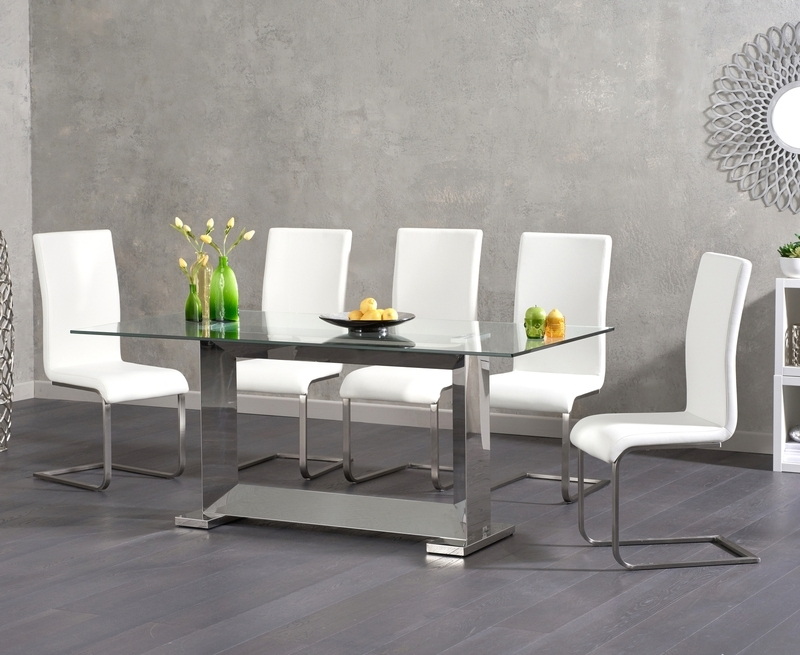[%Logan 180Cm Glass Dining Table +6 Malibu White Chairs [311014 In Widely Used Logan 6 Piece Dining Sets|Logan 6 Piece Dining Sets In Fashionable Logan 180Cm Glass Dining Table +6 Malibu White Chairs [311014|Most Popular Logan 6 Piece Dining Sets Regarding Logan 180Cm Glass Dining Table +6 Malibu White Chairs [311014|Most Up To Date Logan 180Cm Glass Dining Table +6 Malibu White Chairs [311014 In Logan 6 Piece Dining Sets%] (View 1 of 20)