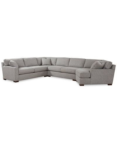 London Optical Reversible Sofa Chaise Sectionals Intended For Famous Carena 4 Pc (View 7 of 15)