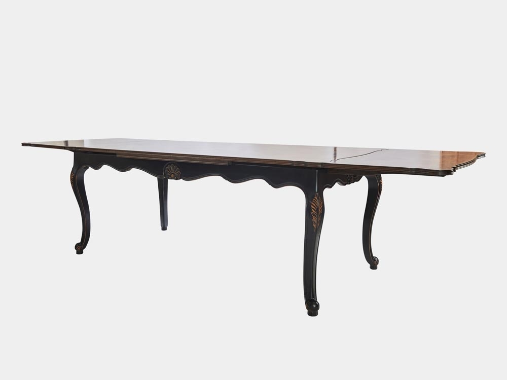 Louis Xv Style Large Extension Dining Table – French Accent Inside 2017 French Extending Dining Tables (View 14 of 20)