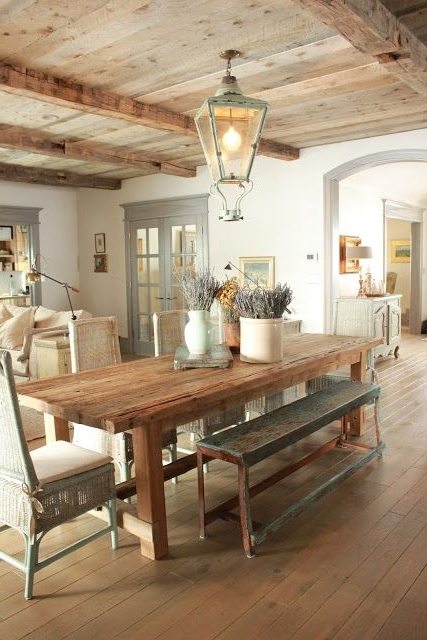 Love This Updated Take On A Rustic Provence Kitchen (View 15 of 20)