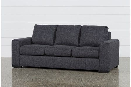 Lucy Dark Grey Sofa (View 3 of 15)