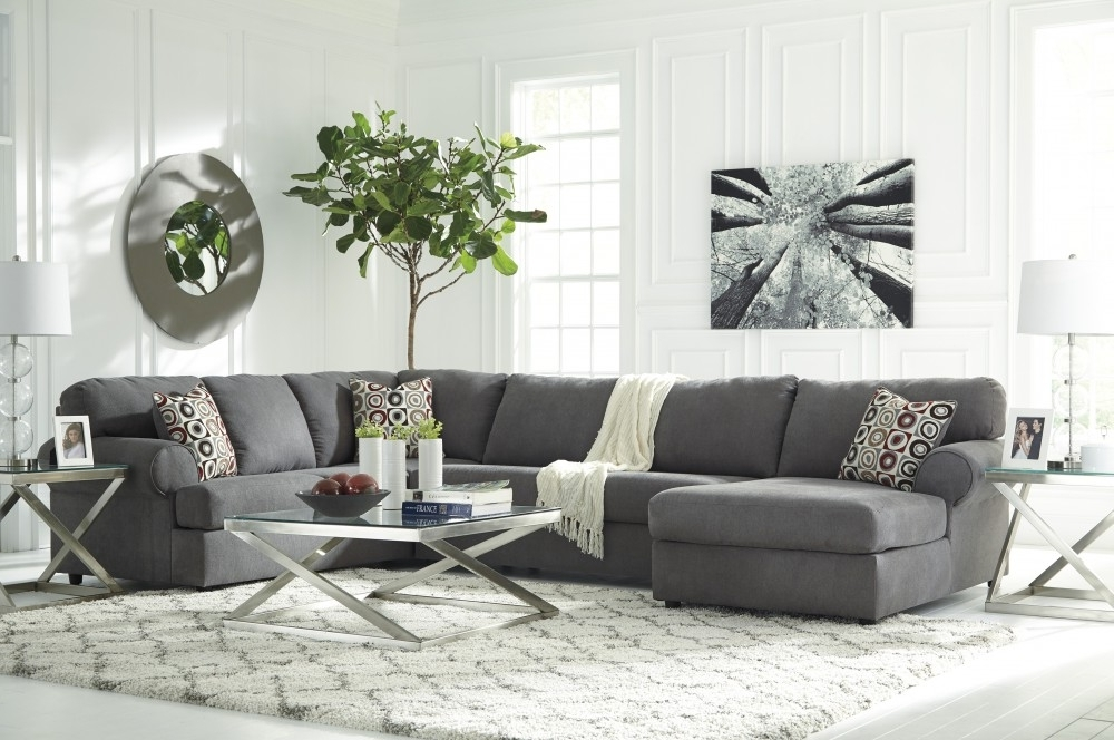 Lucy Grey 2 Piece Sectionals With Laf Chaise Intended For Famous Jayceon – Steel 3 Pc Laf Corner Chaise Sectional (View 4 of 15)