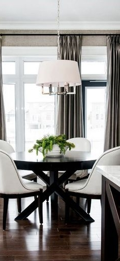 Lunch Room Pertaining To Popular Palazzo 9 Piece Dining Sets With Pearson White Side Chairs (View 11 of 20)